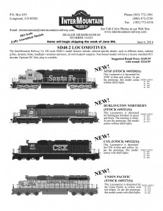 SD40-2 Santa Fe Burlington Northern CSX Union Pacific