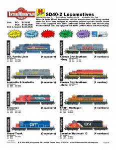 Seaboard Coast Line Family Lines Louisville & Nashville Ferromex Grand Trunk Kansas City Southern BNSF Canadian National Illinois Central