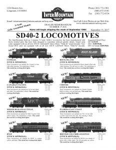 Conrail Canadian Pacific Missouri Kansas Texas BNSF Rock Island Chessie Florida East Coast British Columbia Railway