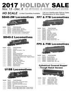 SD40-2W SD40-2 U18B FP7 F7B FP9 F9B Cylindrical Covered Hopper