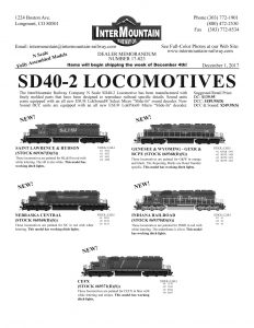 Saint Lawrence & Hudson Nebraska Central Genesee & Wyoming GEXR & RCPE Indiana Railroad CEFX