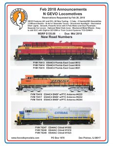 Florida East Coast BNSF Citirail