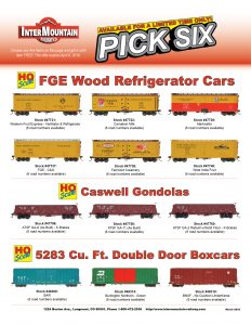 Western Fruit Express Carnation Milk Marhoefer FGE - C&O Fairmont Creamery West India Fruit ATSF Santa Fe BAR Burlington Northern BNSF