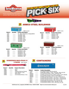 Armco Steel Buildings Gunderson Maxi-Stack IV Containers