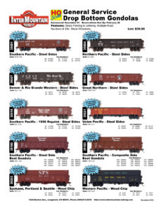 Southern Pacific Denver & Rio Grande Western Spokane, Portland & Seattle Northern Pacific Great Northern Union Pacific Western Pacific