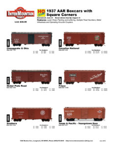 Chesapeake & Ohio Canadian National Nickel Plate Road Frisco Southern Texas & Pacific