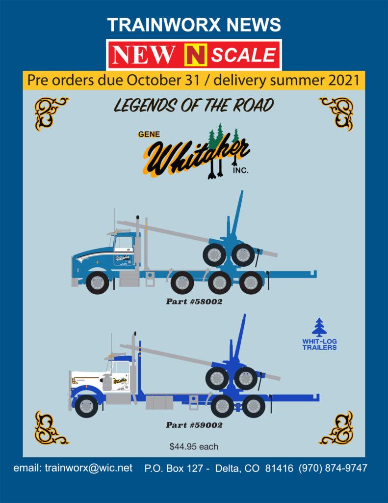 Whitaker Log Truck & Trailer