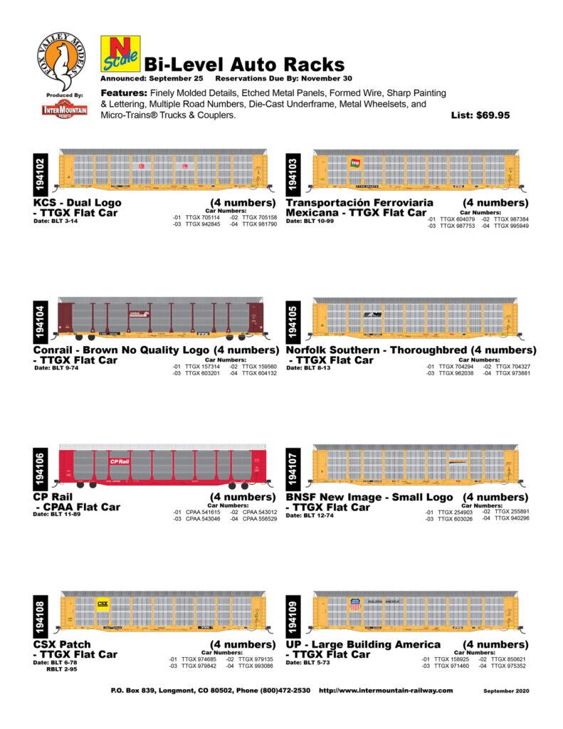KCS TFM Conrail Norfolk Southern CP Rail BNSF CSX Union Pacific
