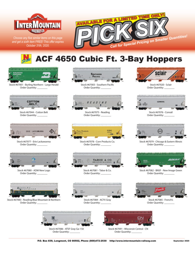 Burlington Northern Southern Pacific Sclair Cotton Belt Reading Conrail Erie Lackawanna Corn Products Chicago & Eastern Illinois ADM Tabor BNSF Reading Blue Mountain & Northern ACFX Gray French's ATSF Gray Wisconsin Central - CN