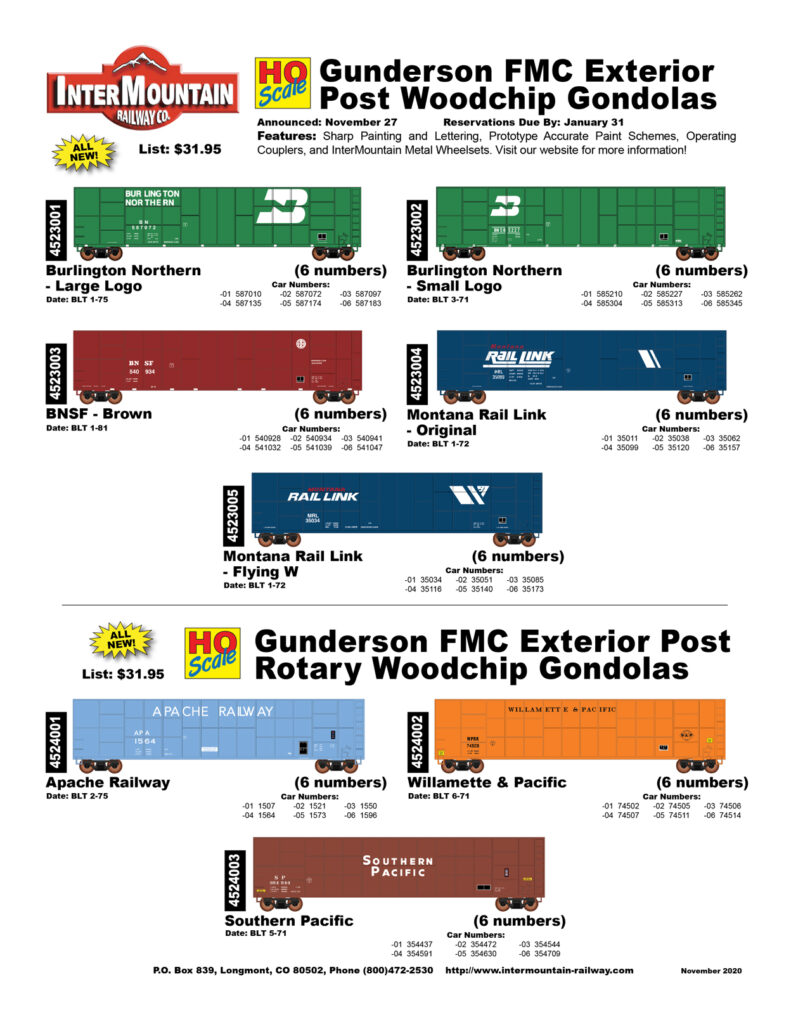 Burlington Northern BNSF Montana Rail Link Apache Railway Willamette & Pacific Southern Pacific