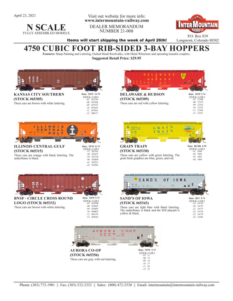 Kansas City Southern Delaware & Hudson Illinois Central Gulf Grain Train BNSF Sand's of Iowa Aurora Co-op
