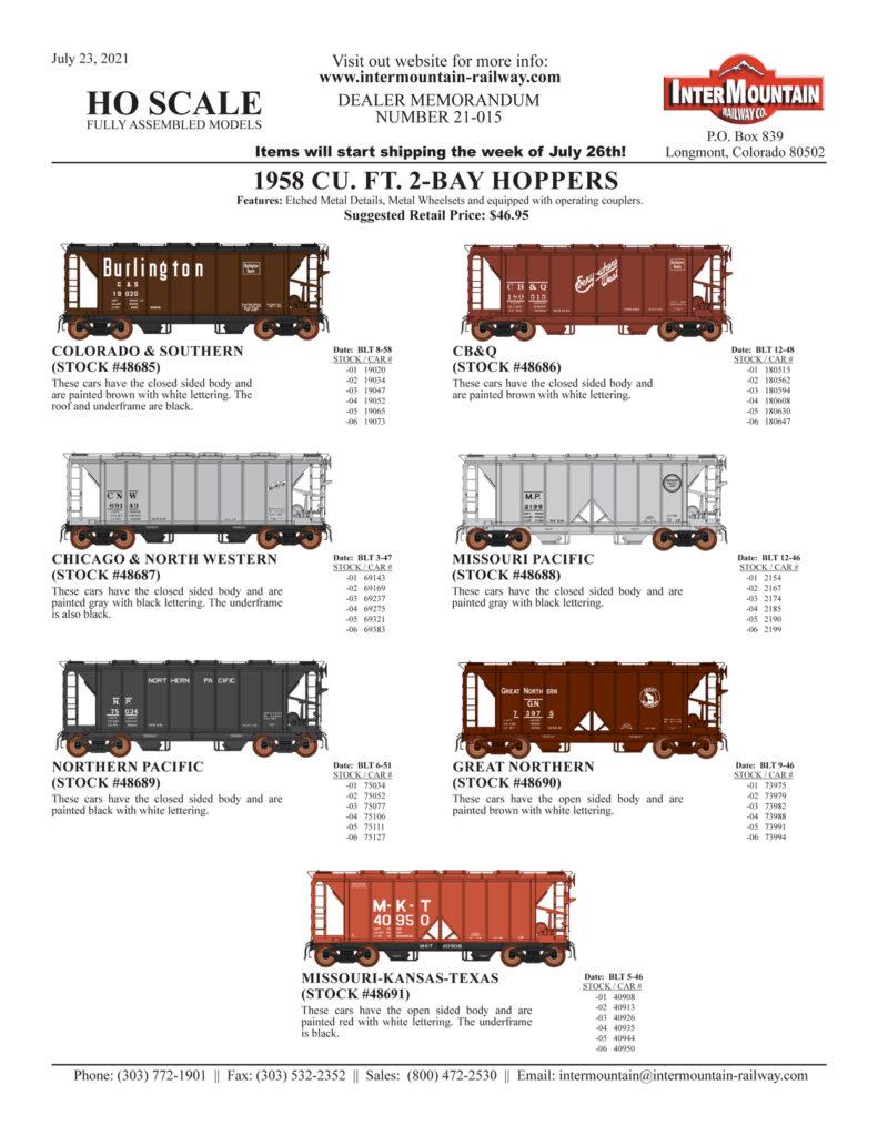 Colorado & Southern CB&Q Chicago North Western Missouri Pacific Northern Pacific Great Northern Missouri Kansas Texas